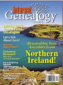 Internet Genealogy, August-September 2016