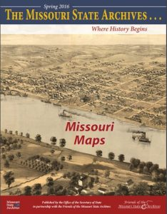 Missouri State Archives Newsletter, Spring 2016