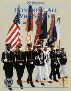 official Veterans Day poster for 1997