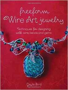 Freeform Wire Art Jewelry by Gayle Bird