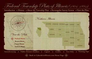 Federal Township Plats of Illinois