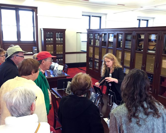 Sharing the Dubach Photo Collection with visitors