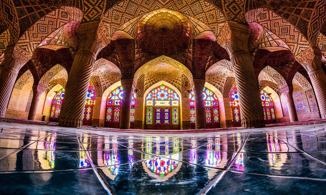 Pink Mosque, Iran