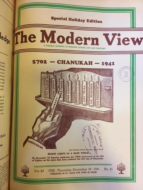 Modern View, vol. 83, no. 21, Dec. 18, 1941
