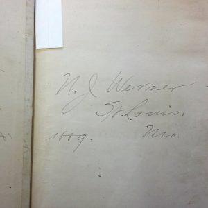 Werner's signature