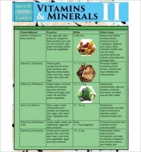 Vitamins & Minerals II by Various Authors