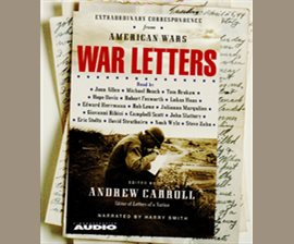 War Letters by Andrew Carroll
