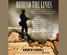 Behind the Lines by Andrew Carroll
