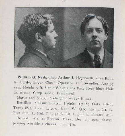 W.G. Nash, Paper Hanger and Swindler