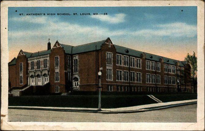 St. Anthony's High School (ca. 1915-1930)