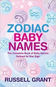 Zodiac Baby Names by Russell Grant