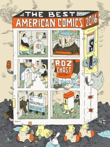 The Best American Comics 2016 Roz Chast