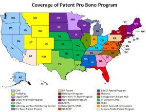 Coverage of the Patent Pro Bono Program