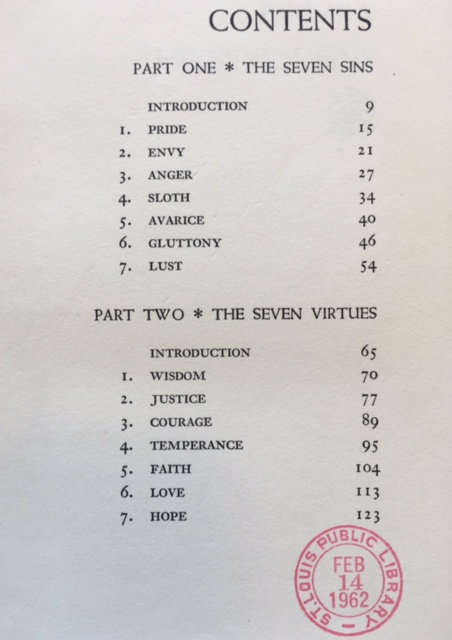 Sins & Virtues