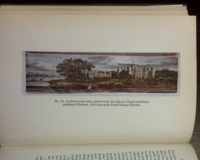 Image from A Thousand and One Fore-edge Paintings