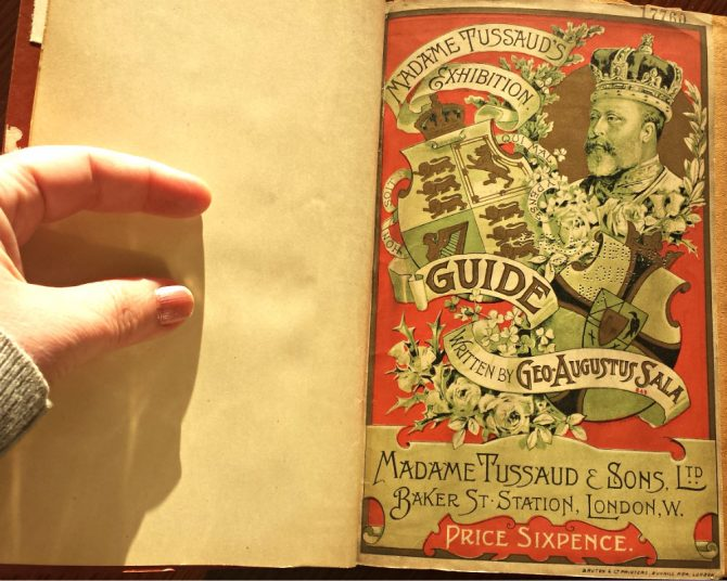 Madame Tussaud's Exhibition Guide, 1892.