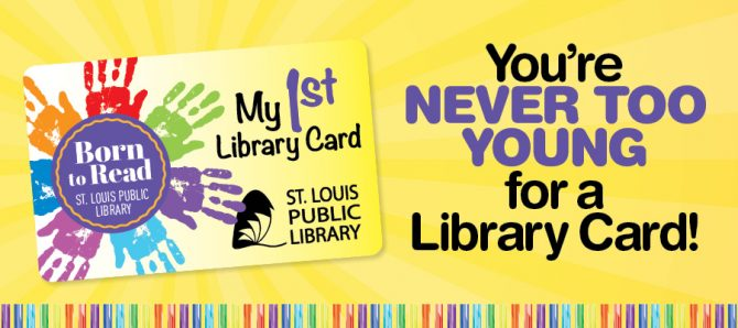 Get A Card  St Louis Public Library