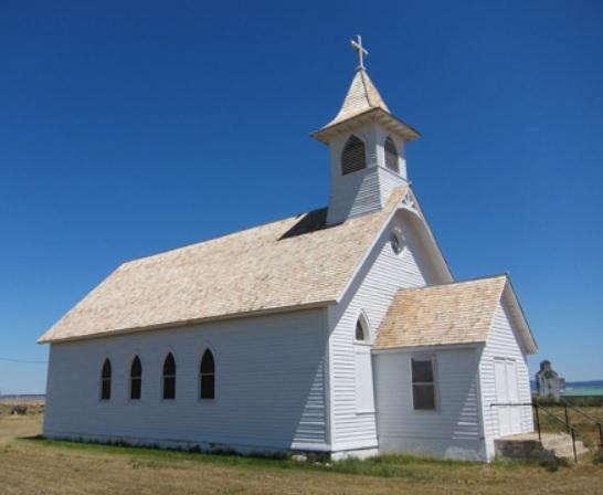 St. Wenceslaus Catholic Church, Danvers, Montana (National Park Service photo)