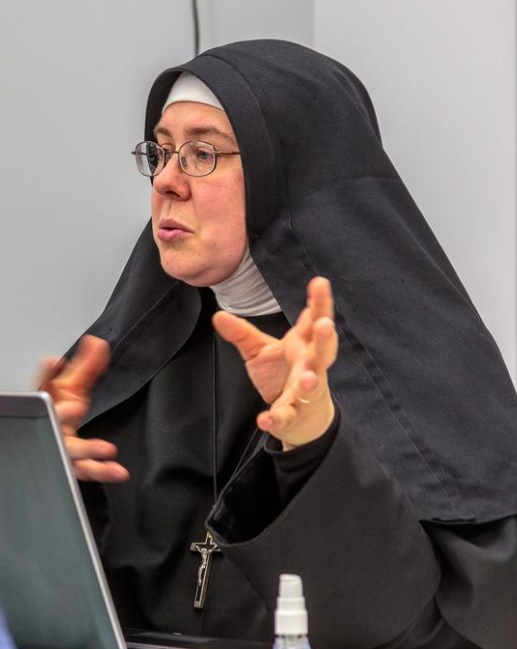 Nun working at a disaster site (FEMA.gov photo)