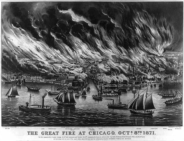 Great Chicago Fire (Collection of LOC.gov)