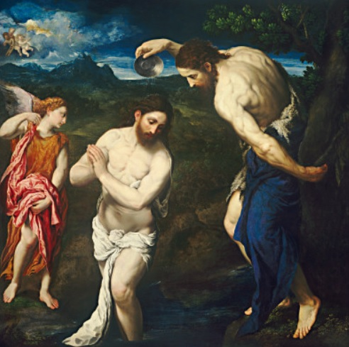 Baptism of Christ (National Gallery of Art photo)