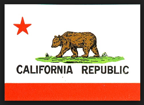 Flag of the California Republic (LOC.gov photo)